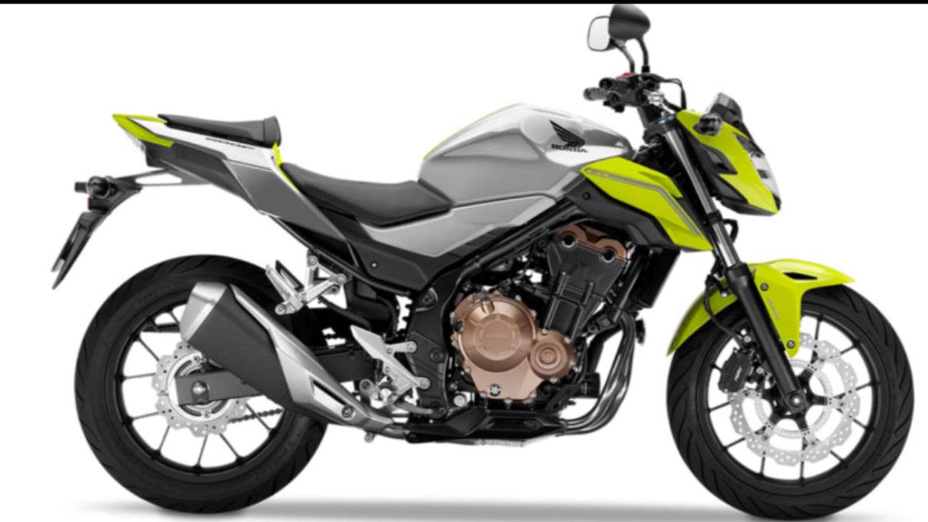 Honda CB 500 F der Fahrschule Horend-Lämmermeier