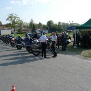 Motorradtraining der Fahrschule Horend-Lämmermeier